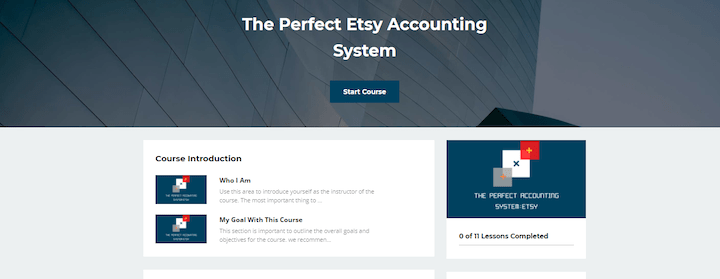 The Perfect Etsy Accounting System